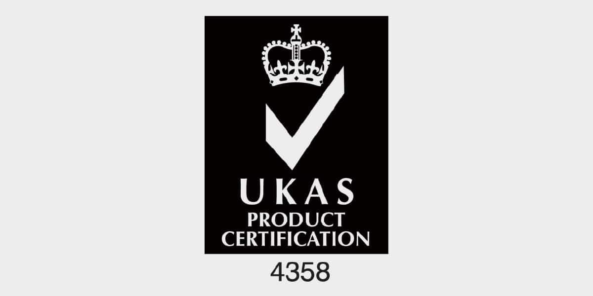 UKAS MTG product certification logo
