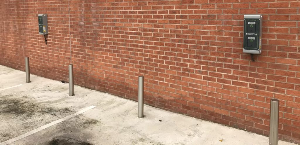 Electric Vehicle parking spaces