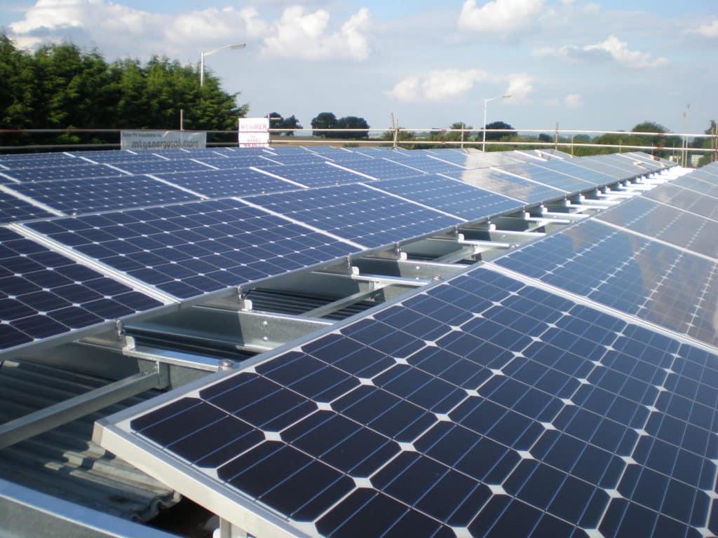 Lot's Of Solar Panels