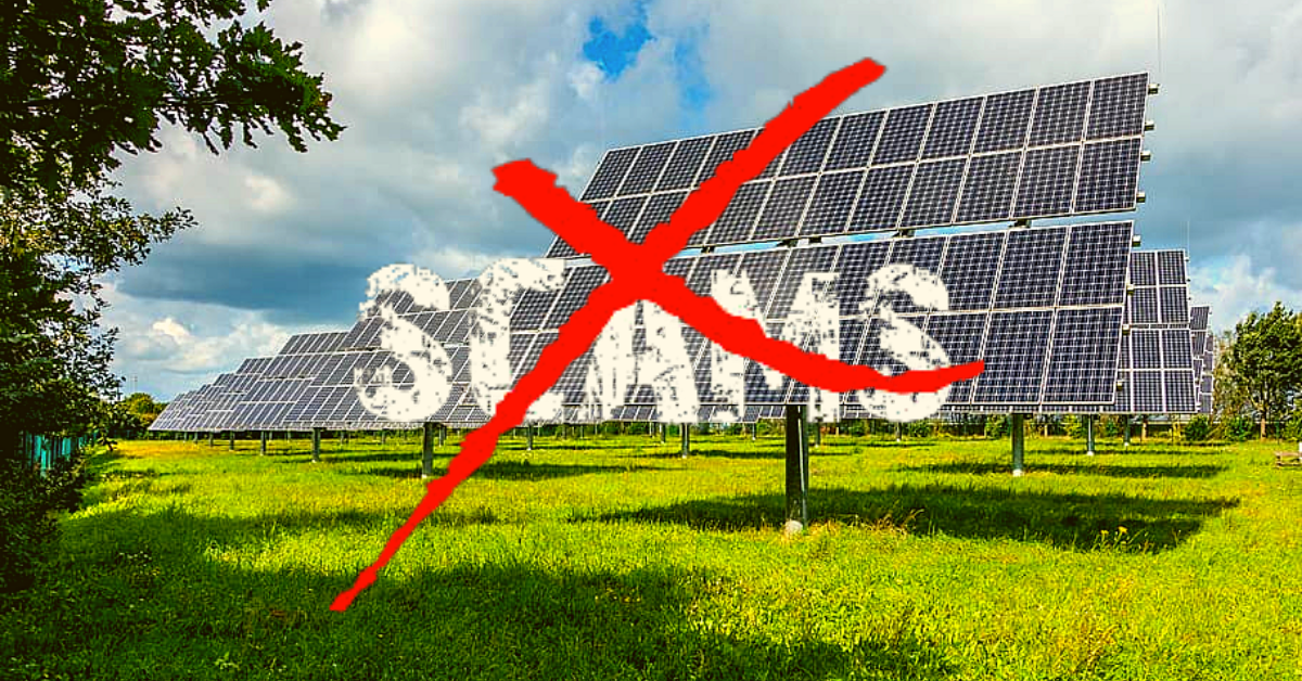 How To Avoid Solar Power Scammers