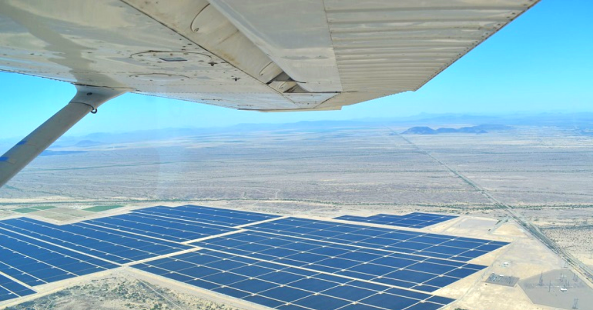 Solar PV Inspection via Manned aircraft