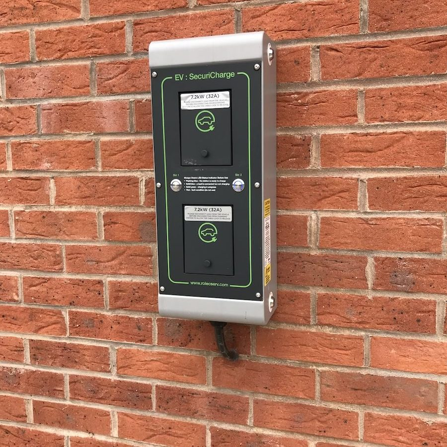 SecuriCharge Electric Vehicle Charging station