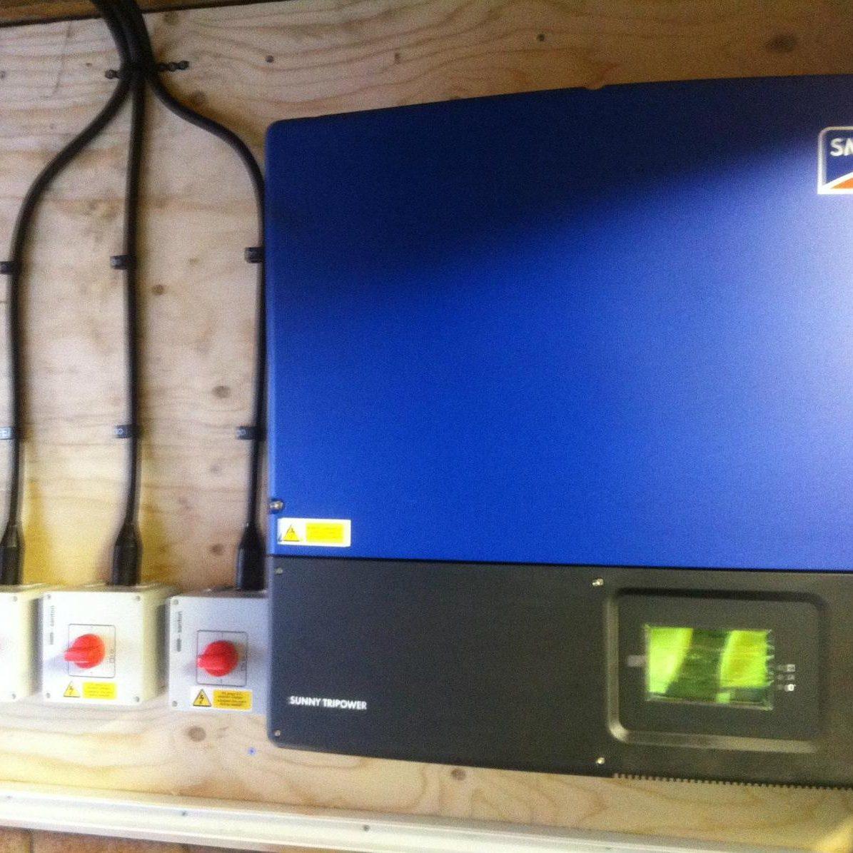 Petrol Station Solar PV - Knight Brothers 1
